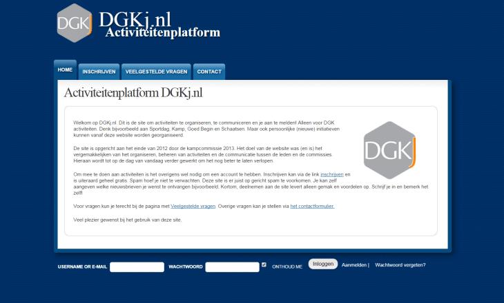 DGKj screen